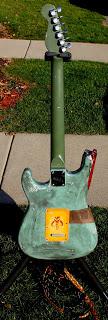 Boba Fett guitar back