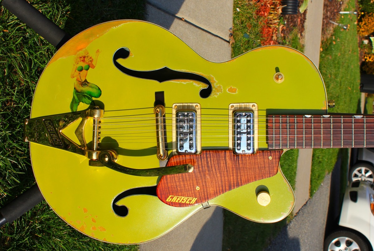 1960's Gretsch Anniversary Model – Phrase 3:Completion