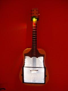 Lite Brite guitar dim