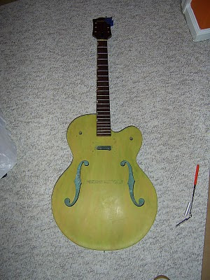 1960's Gretsch Anniversary Model – Phase II:Coloring